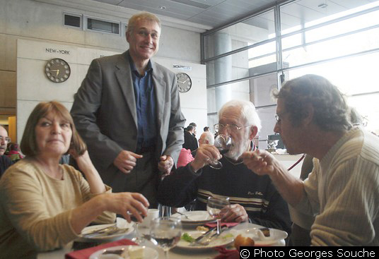 Mme Lesfargues, Jean-Yves Casanova, Bernard Lesfargues, Jean-Paul Creissac
